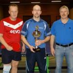 Neuer Tischtennis-Vereinsmeister Marco Schulze