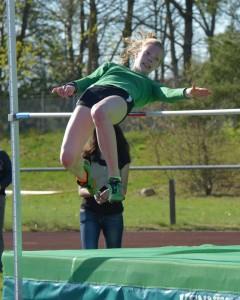 Kreisrekord Hochsprung Lisann Retzlaff (Foto: D. Schrader)