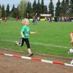 Mit viel Freude dabei - 400 m Lauf der WU8
