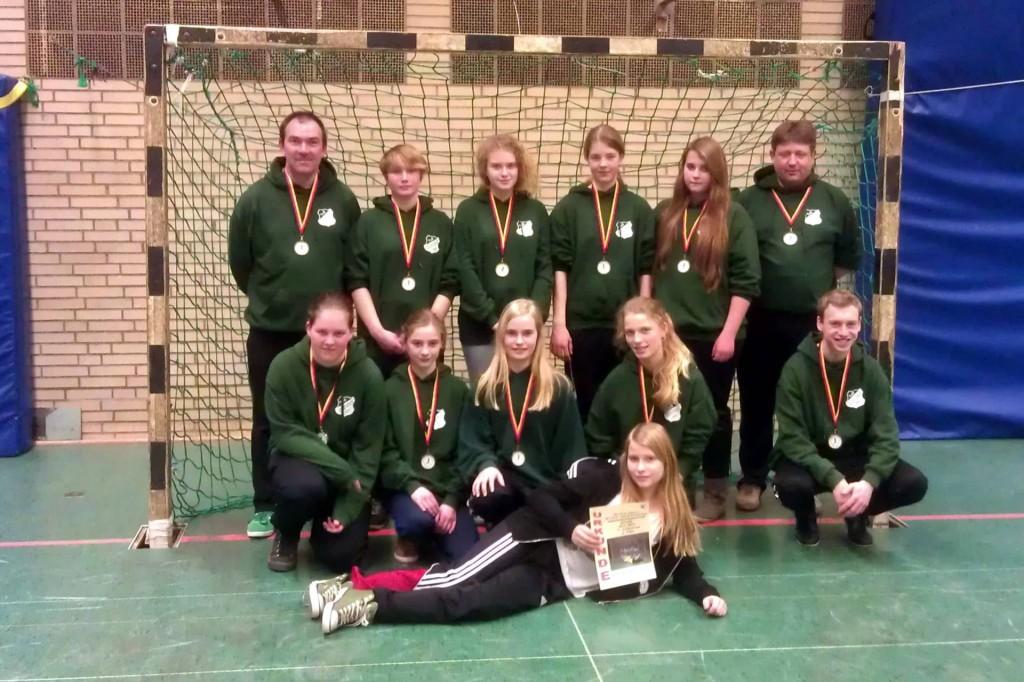 Vize Hallenkreismeister SG Soltendieck_Suhlendorf C-Juniorinnen