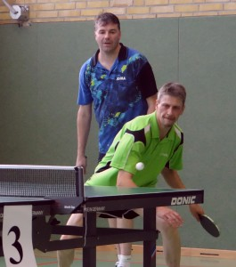 Rüdiger Lilje im Doppel mit Rainer Krebel  © omü