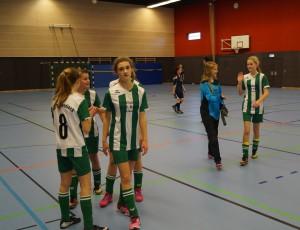 Gewinner der Hinrunde Hallenmeisterschaft 2015 C-Juniorinnen Gruppe A (Foto M.Vogt)
