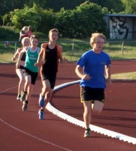 2000 m Lauf