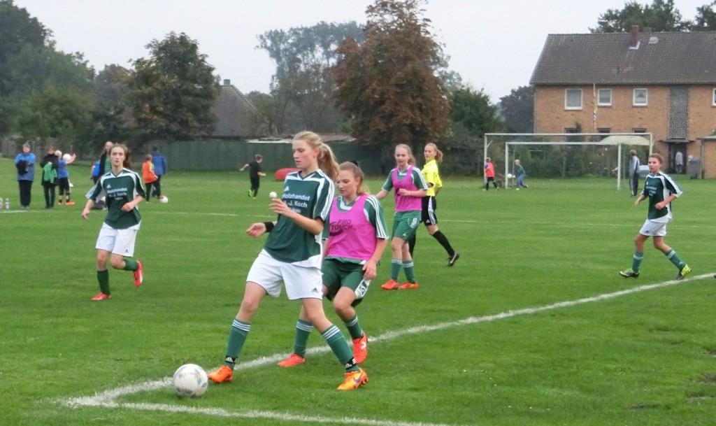 B-Juniorinnen JSG Aue Soltendieck gegen FSG Gartow © B. Hartwig
