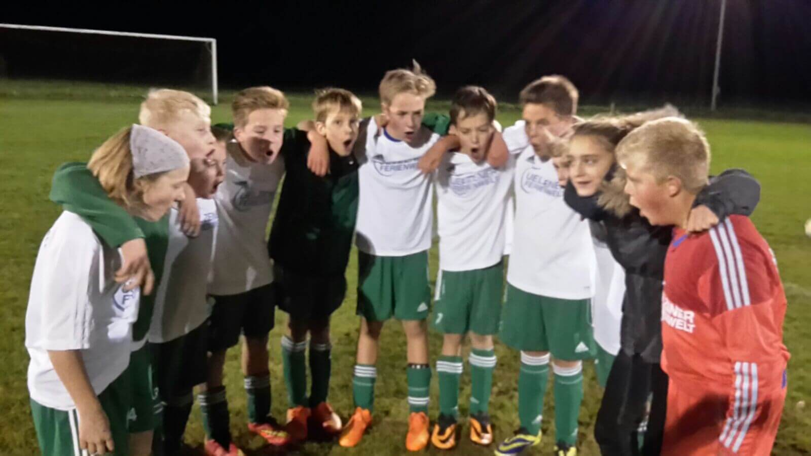 Freude über die gelungenen Mannschaftsleistung