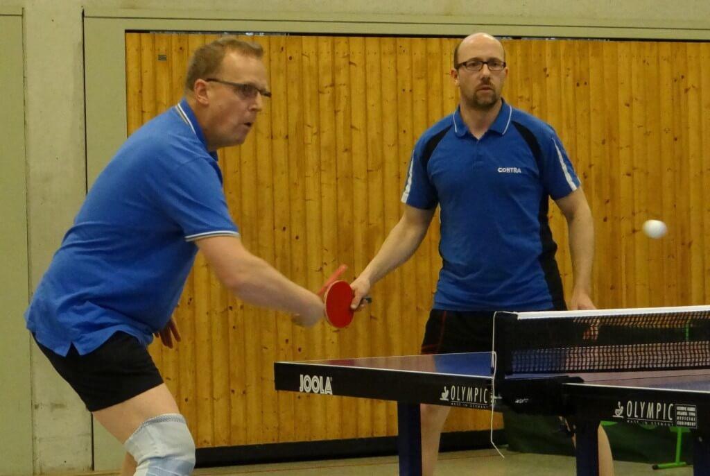 Harald Knüdel / Marco Schulze gewannen ihr Doppel gegen den MTV