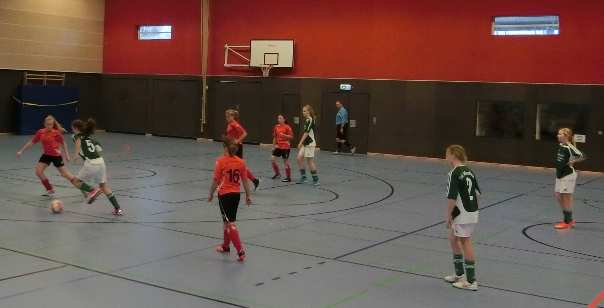 C-Juniorinnen Hallenkreismeisterschaften 2015/2016