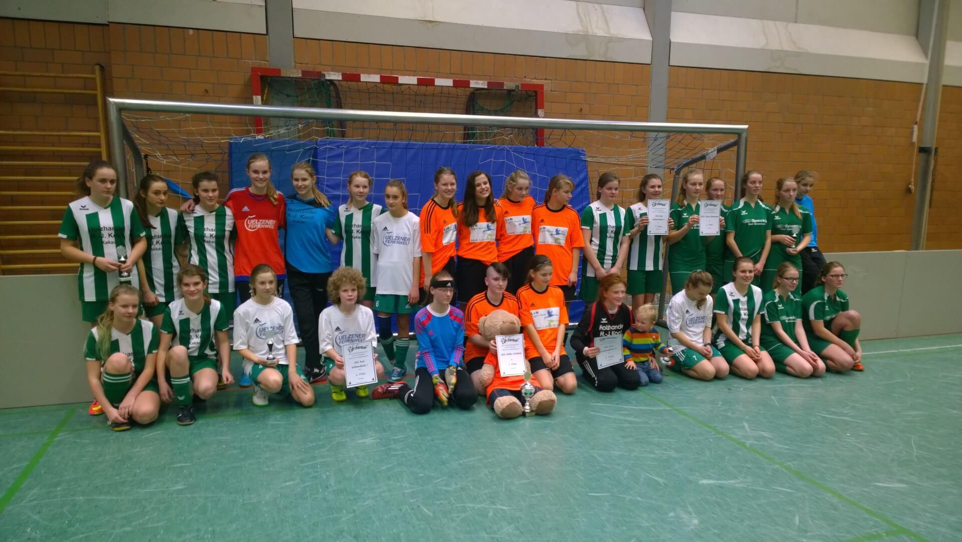 Mannschaften C-Juniorinnen Turnier © mv