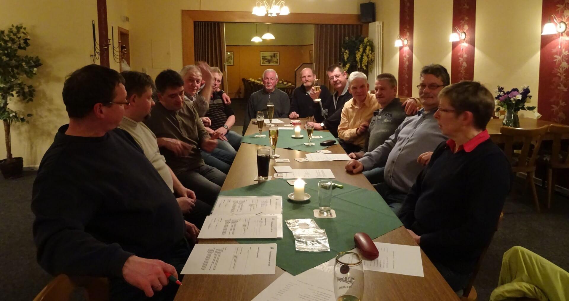 Mitgliederversammlung 2016 des Fußballförderkreis des TuS Soltendieck