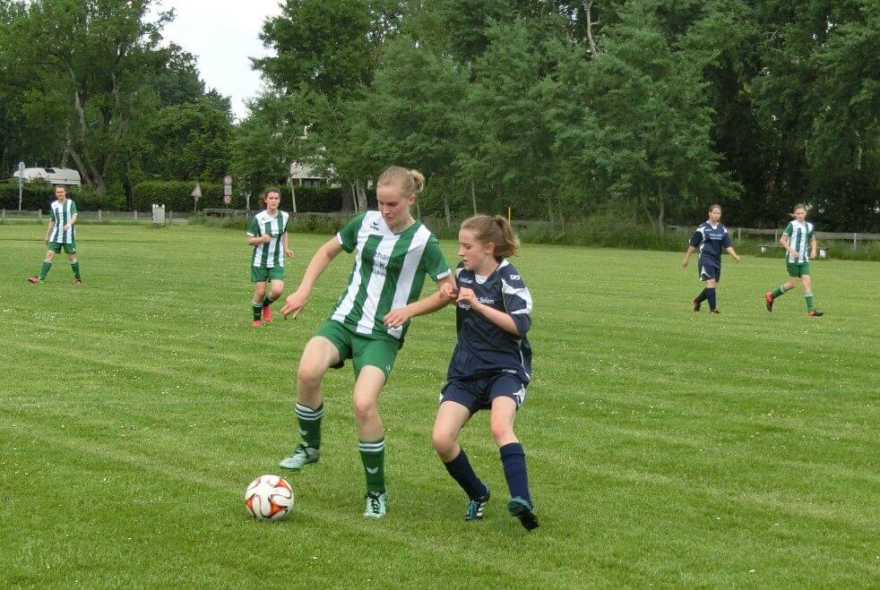 C-Juniorinnen Spiel JSG Aue Soltendieck gegen SV Lemgow-Dangenstorf