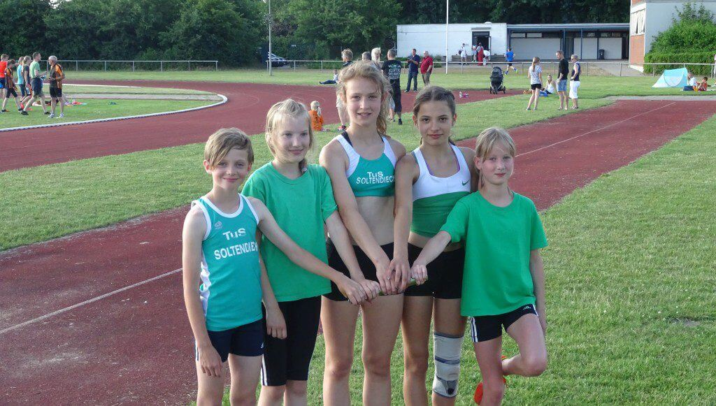 Soltendiecker Staffelläuferinnen in Lüchow