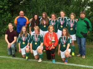 Pokalsiegerinnen B-Juniorinnen JSG Aue Soltendieck 2016
