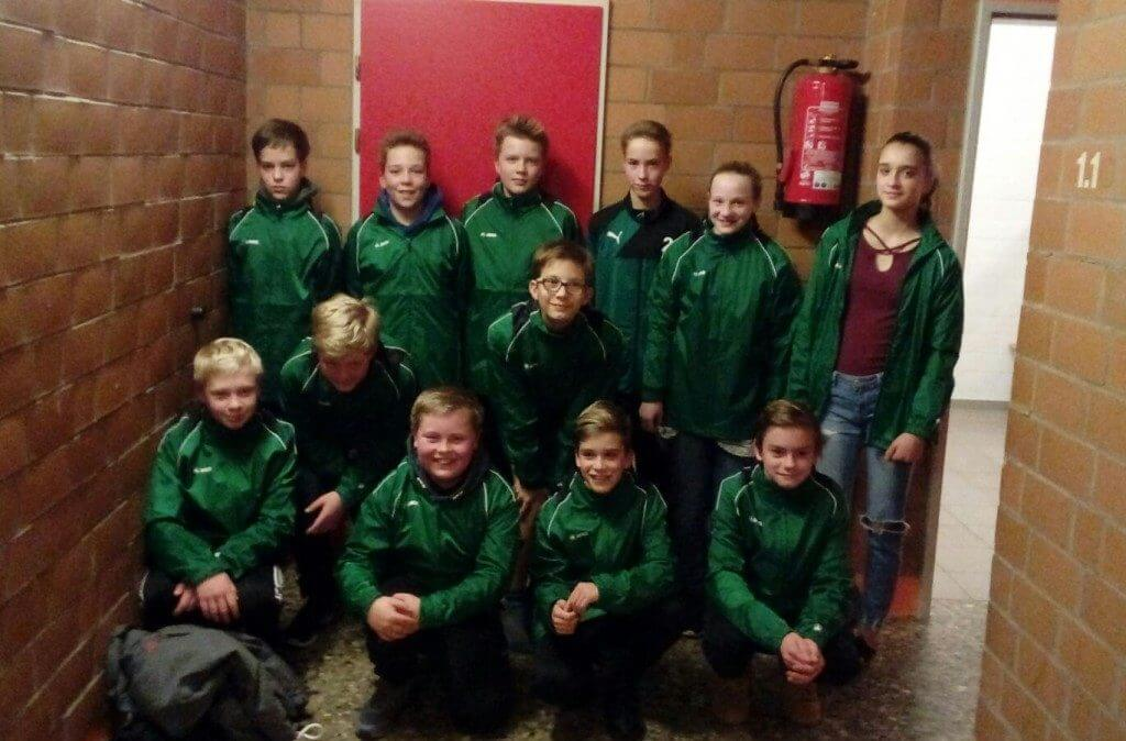 D-Junioren der JSG Aue Soltendieck in neuem Outfit ©bp