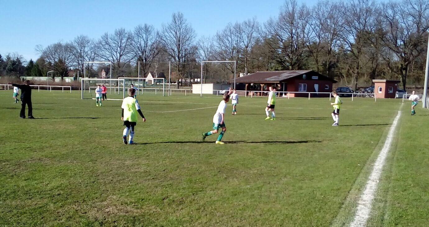 Kreisliga D-Junioren U13 - JSG Aue Soltendieck im Heimspiel gegen die JSG