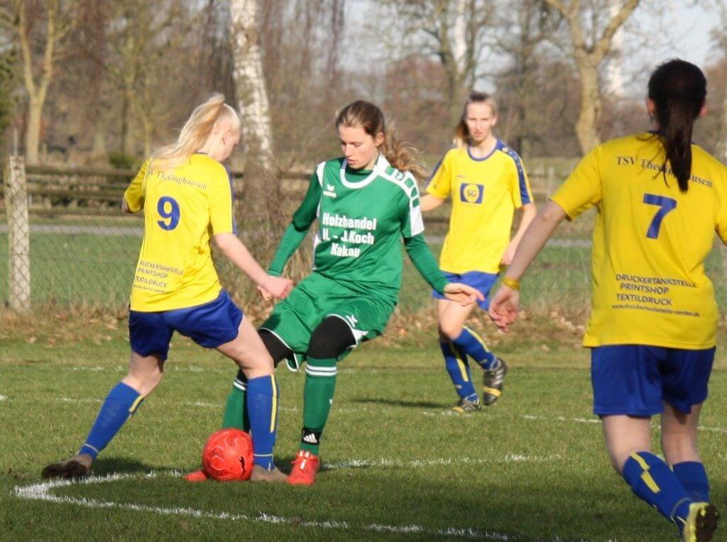 Amelie Küsel war mit Treffern sehr  erfolgreich