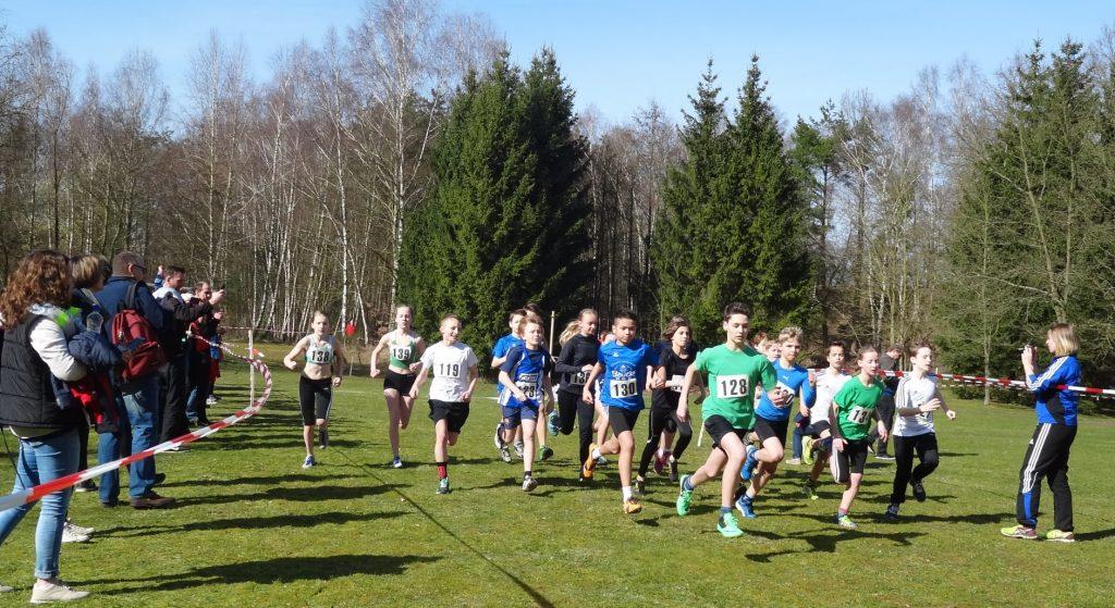 Start 1500 m - MWJ U14
