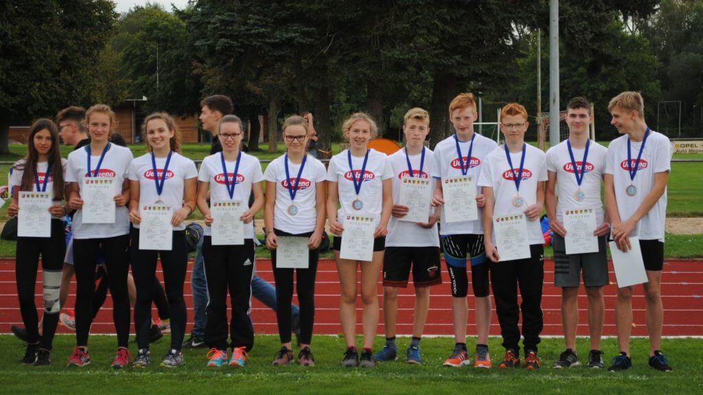 Kreisvergleichswettkampf - Mannschaft M/WJ U16 des KLV Uelzen