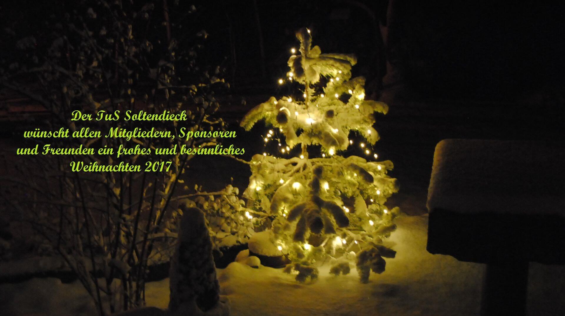 Dezember 2017 – TuS Soltendieck von 1927 e.V.