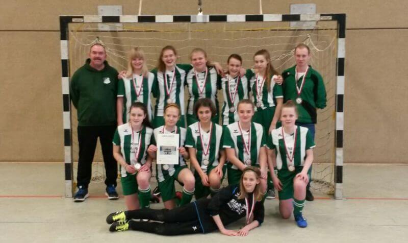 C-Juniorinnen JSG Aue Soltendieck Vize Futsal-Kreismeister