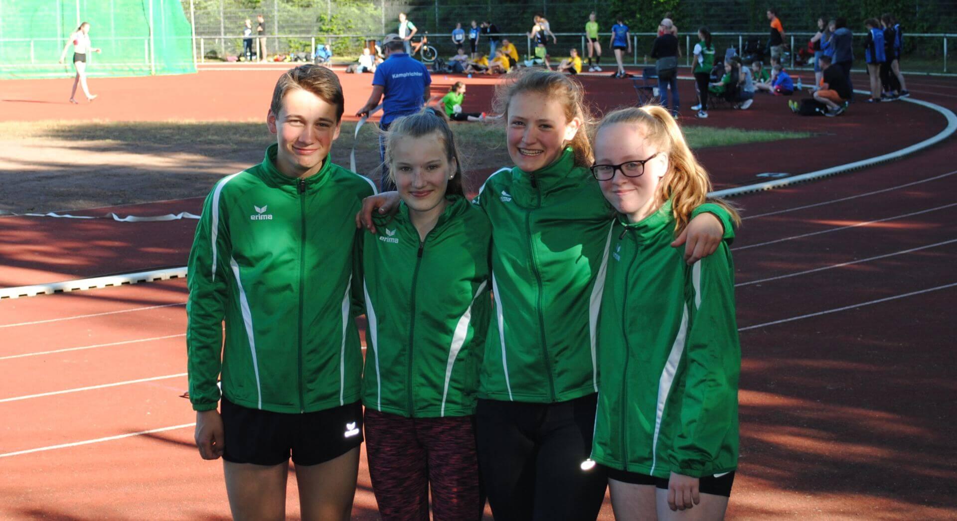 Soltendiecker Leichtathleten bei den Mehrkampf Bezirksmeisterschaften in Stuhr-Moordeich