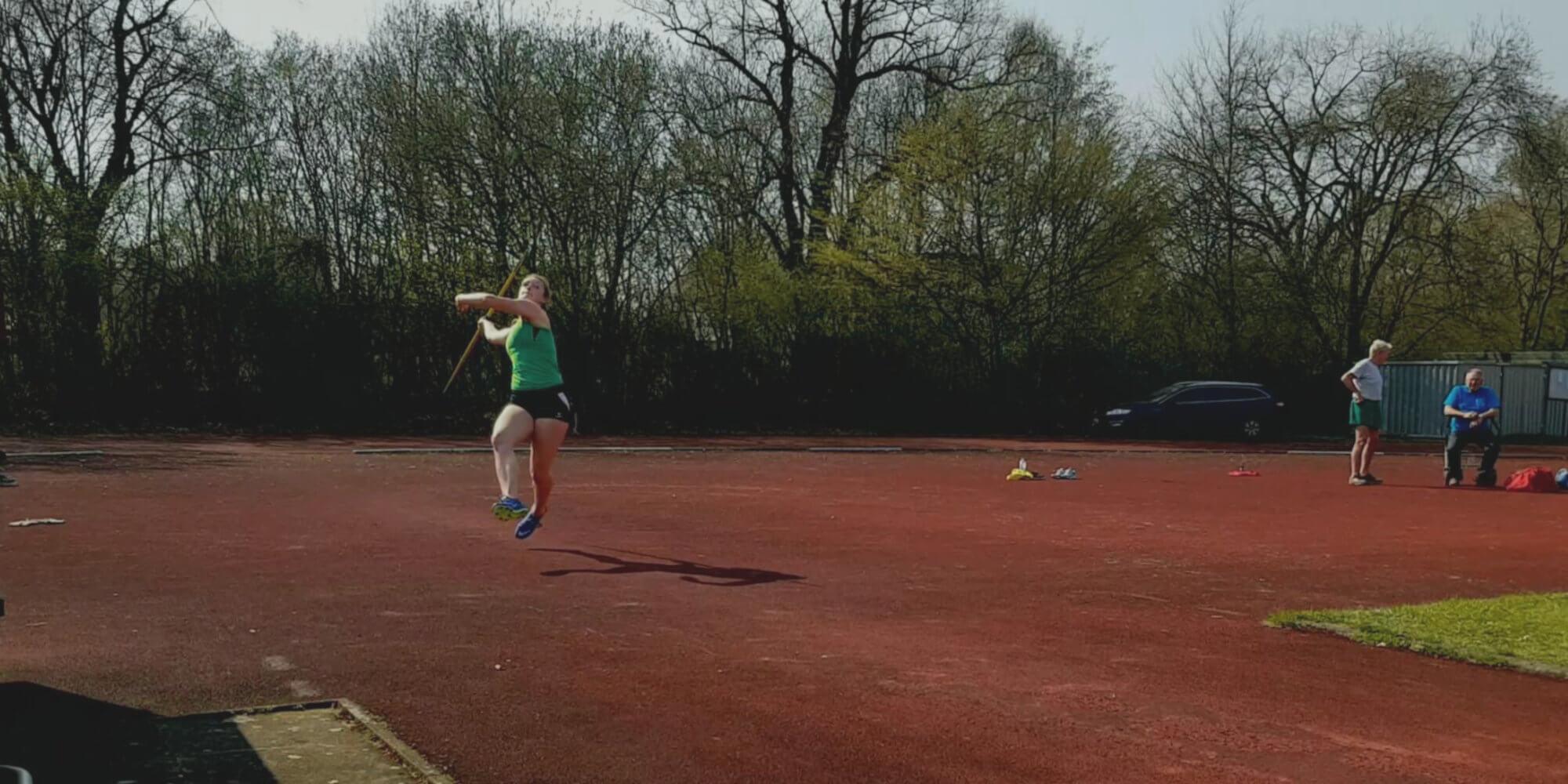 Speerwurf der weiblichen Jugend U18