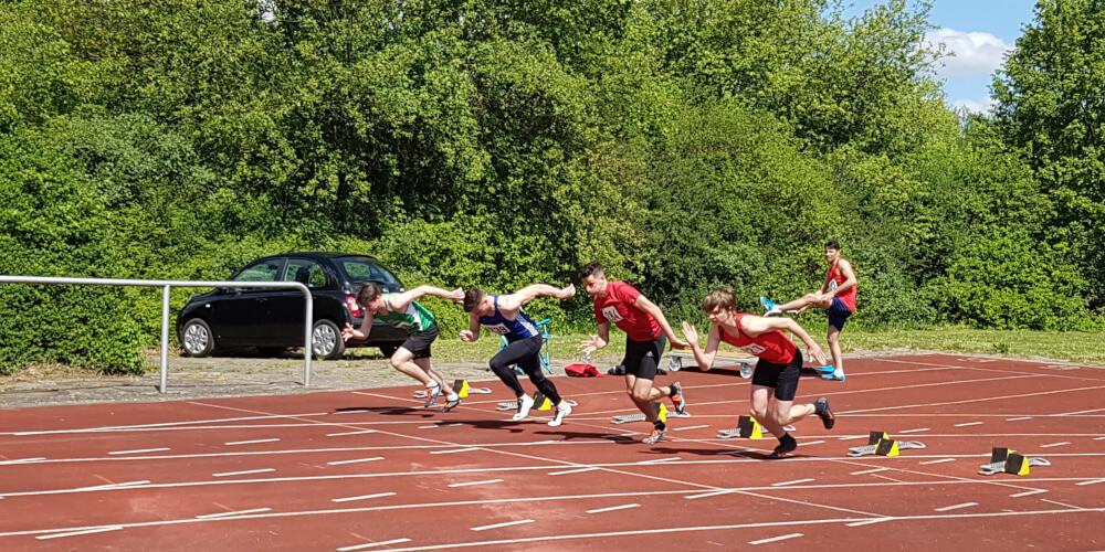 MJ U20 Start Sprint 100 Meter ©ar