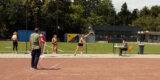 Trotz langer Wettkampfpause: Mira Schumann überzeugt mit der Kugel